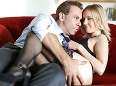 Stephanie (Karla Kush) and Paul (Steven St. Croix) remember one of their early trysts at his house.  She's...